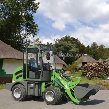 mini loader hot sale europe ZLO8 mini wheel loader