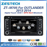 Car Dvd player for mitsubishi outlander Car Dvd player 2014 2013 with GPS Navigation,Radio,Bluetooth,RDS,3G,V-10disc(ZT-M705)