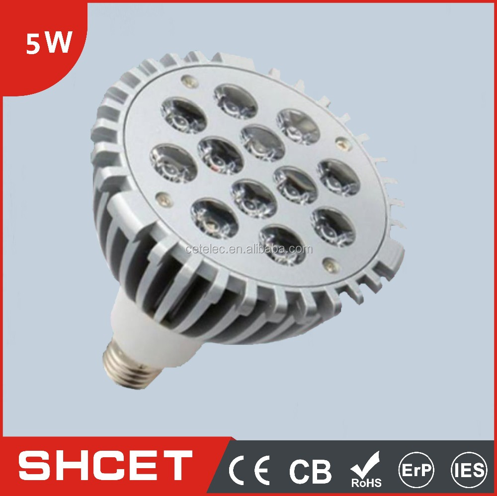 Aluminal Housing AC85-265V PAR30 95*95MM CET-042-5W LED Spotlight