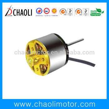 wide speed-ranges 3.0v motor CL-WS2818W for aviation