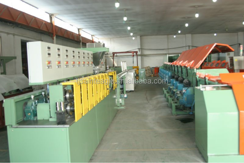 FLUX CORED WIRE PRODUCTION LINE