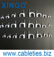 Flat Cable Clip Wire and Cable Fixing Clip Plastic Clips