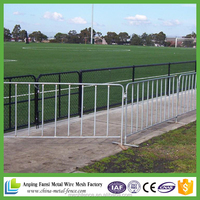 Durable 6FT PVC Coated Welded Wire Temporary Fence Panels With Steel Flat Feet