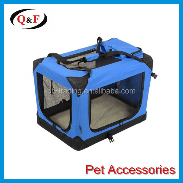 Deluxe Cheap Folding Soft Dog Crate for indoor, travel, training