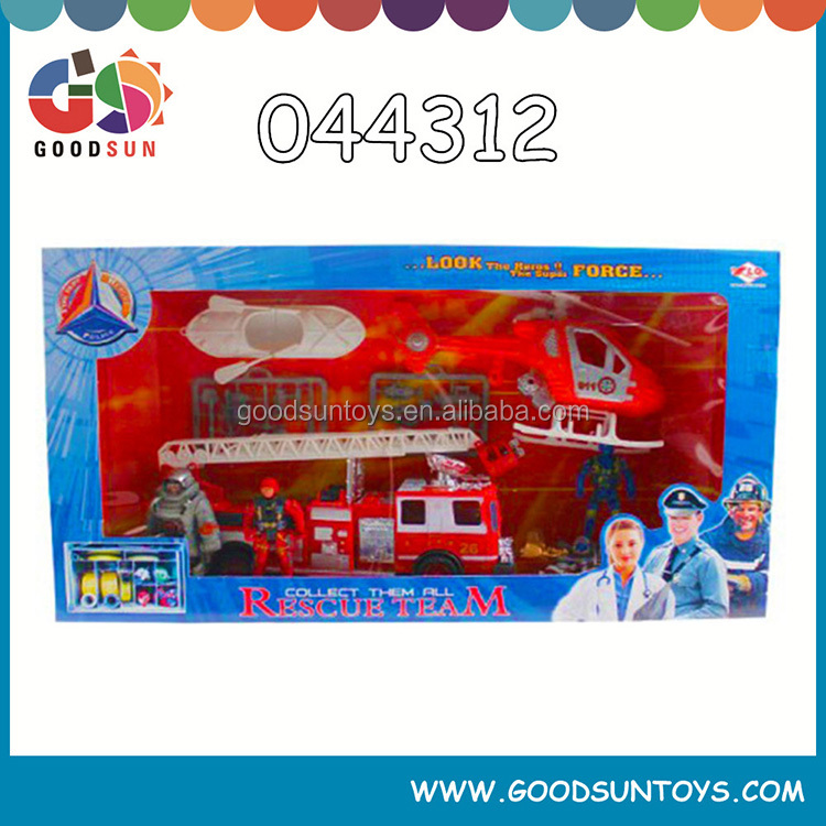 shantou toy police set military toy with EN-71 certification