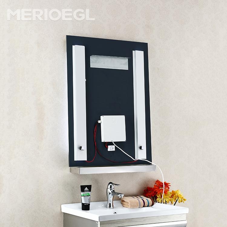 Nouveau sans cadre salle de bains miroir clair mur for Miroir sans cadre