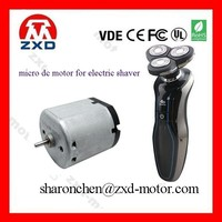 Flat Type 3.6V Small DC Electric Shaver Motor