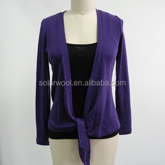 Merino Pure Wool Women Washable Cardigan Sweaters