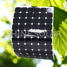 Flexible solar panel 200w Monocrystalline Semi Flexible Solar Panel Bendable folding Solar panel