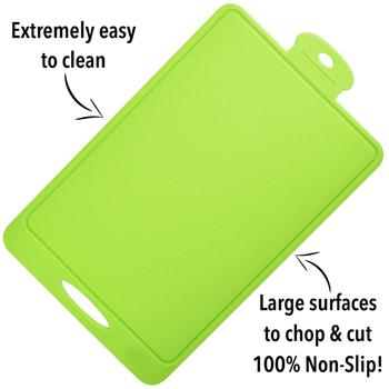 foodie's kitchen premium silicone cutting board  flexible, Kitchen design