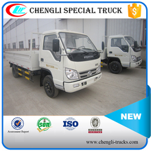 Foton Light Duty 130hp 4*2 5ton Cargo Truck 5000kg Dry Cargo Box Truck