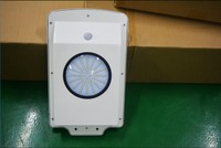Warm White Color Temperature(CCT) 6W all in one solar LED street light with motion sensor