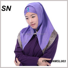 wholesale new design arabian islamic scarf hijab scarf