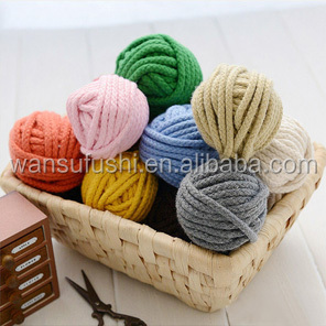 China Wholesale Braided Colored 6 mm Round Cotton Cord