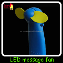 mini fans for hot flashes led flash fan