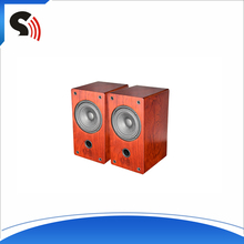2016 One Pair 4'' Full Range Cabinets Professional Original Wooden Sound Box Music Player Hi-Def Stereo Bookself Speakers