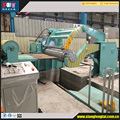 Hydraulic recoil machine