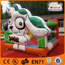 2013 New design cheap kids bouncy,amusement inflatable water slide