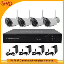 4ch DVR Kit full AHD security camera system Outdoor P2P Rohs in china factory