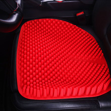 New Products silicone summer cool car seat cushion gel car massage cushion for home office chairs cooling