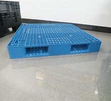 Blue pallet plastic heavy duty plastic trays with steel insert