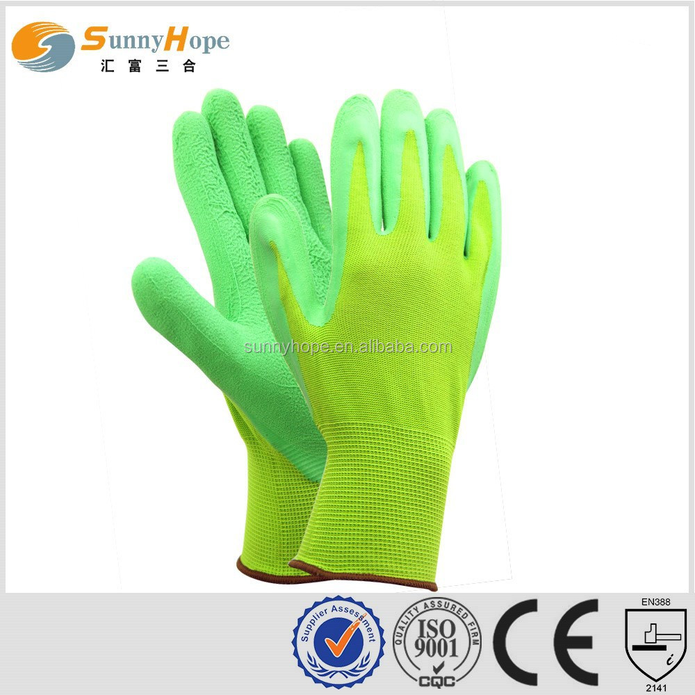 sunnyhope safety knit fox gardening gloves