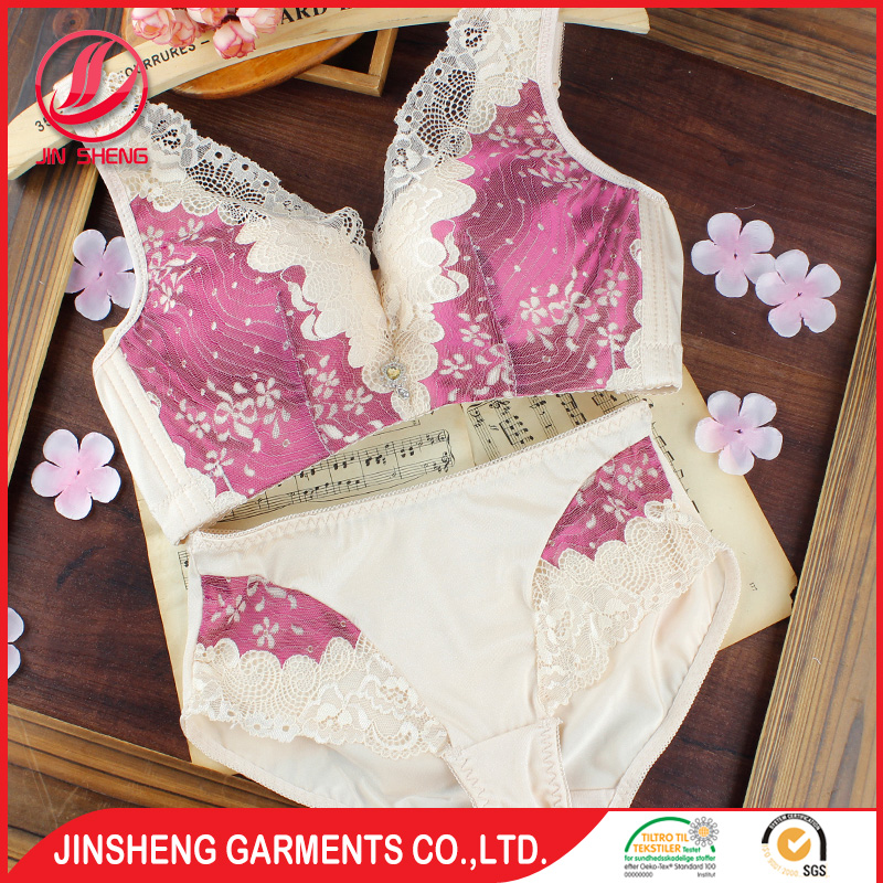 Shantou Bras Factory Wholesale Soft Cup No Padding Bra