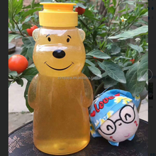 Food grade 500g bear shape honey packaging plastic bottle pet honey jars and bottle
