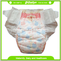 Fluff pulp softtextile disposable sleepy baby diaper