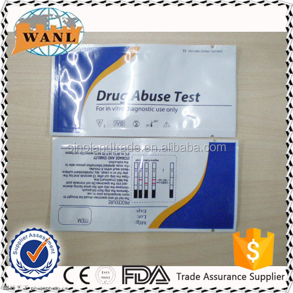 CE ISO approved one step drug of abuse test kit