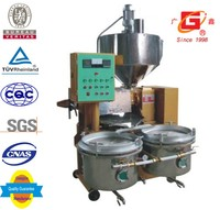 Food nuts seeds oil processing machine cooking oil expeller GuangXin YZYX70ZWY