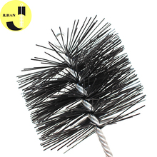 4 Inch Telescopic Chimney Cleaning Tools Accessories Cowls Brooms Round Crimped Steel Wire Poly Snow Sweeper Brush