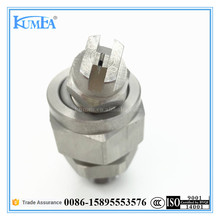 High Grade stainless steel flat fan cone spray nozzle