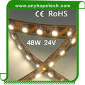 outdoor IP68 Ra80 UL 12V taiwan chip 2500k warm white led strip lighting