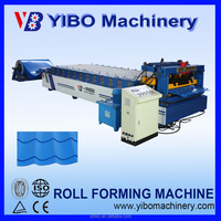 Roof Use and New Condition corrugated zinc roofing step tile cold rolling machinery