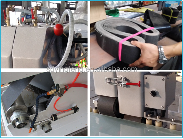 JFSD2 Best Match Best Quality hot sale Automatic Glass Sand/sanding Belt Grinding Machine for glass edging