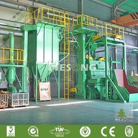 Rubber Tracked Type Shot Blasting Machine/Tumble Belt Type Sand Blasting Equipment