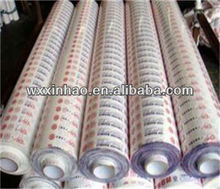 PE protective film roll/printed or colored