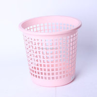 Engpai Hollow Out Plastic Trash Can/Garbage Bin/Waste Can/Bin/Wastebasket for students
