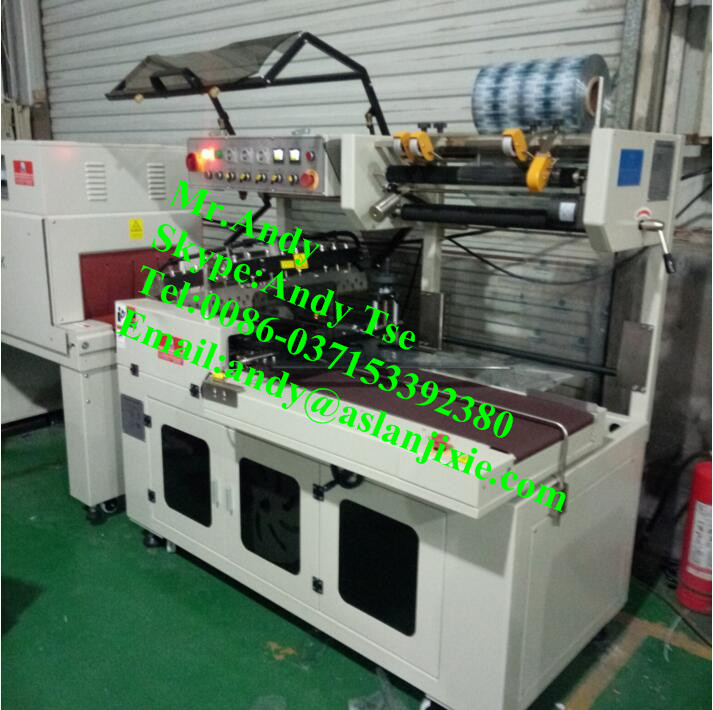 3D film cosmetic cellophane packaging machine/paper box plastic film packing machine