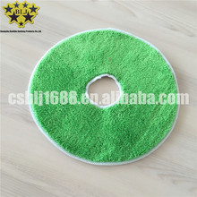 China supplier microfiber coral fleece circular cleaning mop in machine