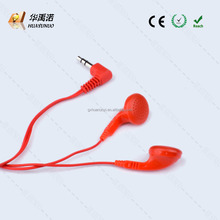 Disposable earbuds in-ear style Promotional earphone with manufactory price /disposable airline earphone/earpiece earbud