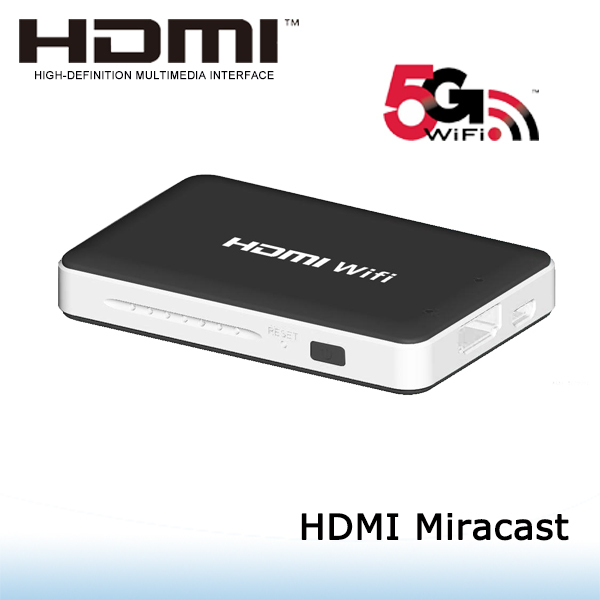 New arrival wifi display link hdmi to charge by mini usb port