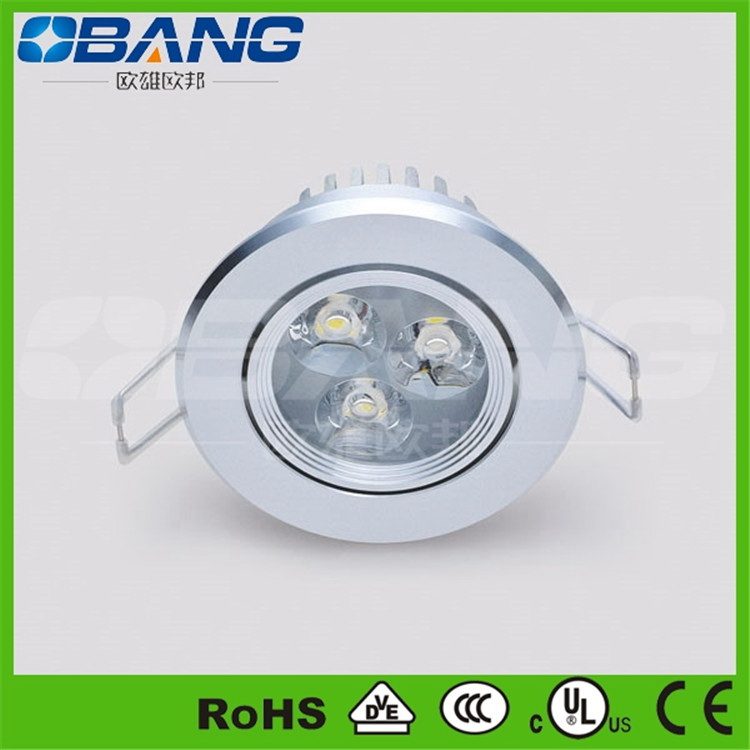 Popular 6w Ceiling Color Changing Led Recessed Light Of