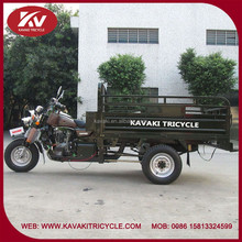 China manufacturer produce hot selling cheap blue color three wheel cargo motorcycle with windshield