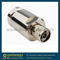 "n male connector for flexible cable Corrugated copper 7/8"" cable"