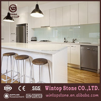 Water Resistant Artificial Quartz Kitchen Countertop for Sale