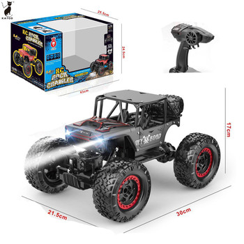 Hot Sale 1:14 RC Alloy Electric Climbing Car with Light