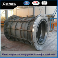Roller Suspension Concrete Pipe Making Machine / Concrete Culvert Pipe Mold