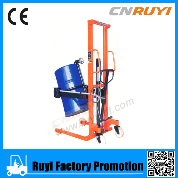 High quaity hand oil drum lifter with hydraulic pump